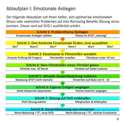 EFT Tapping DVD-Set - Emotionale Anliegen